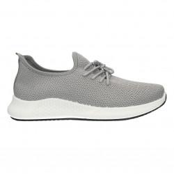 Pantofi gri, barbatesti, pentru jogging