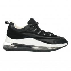 Sneakers negri, dama, talpa trendy