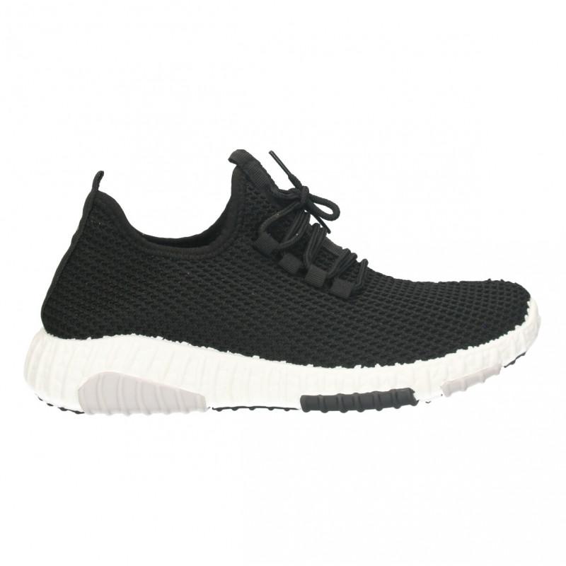 Pantofi negri, barbati, jogging