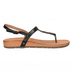 Sandale flip flops, negre, pentru femei