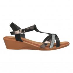 Sandale casual, dama, stil boho