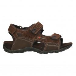 Sandale trekking, piele, pentru baieti