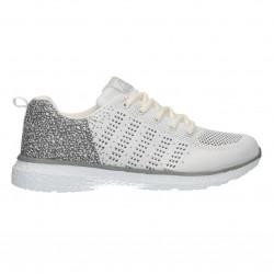Pantofi sport, albi, de sala, pentru barbati