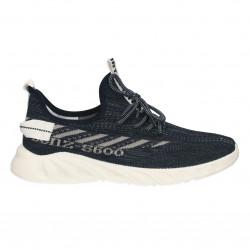 Sneakers barbati, slip on, culoare gri