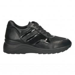 Pantofi dama, casual, negri, stil sport