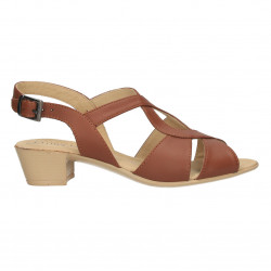 Sandale dama, casual, comode, din piele