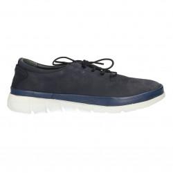 Sneakers dama, albastri, piele nubuc