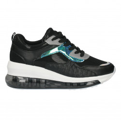 Pantofi sport, cu talpa inalta, pentru femei