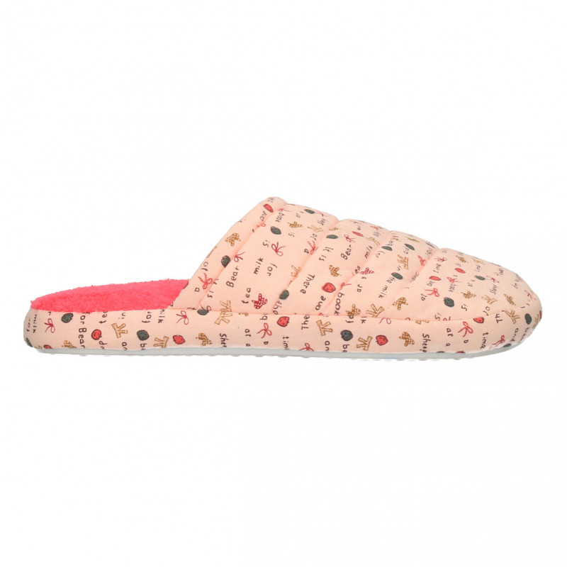 Papuci de casa, roz cu fuxia