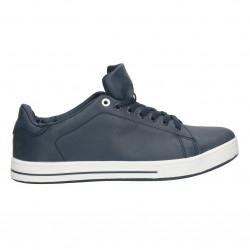 Sneakers barbatesti, cu talpa alba, groasa