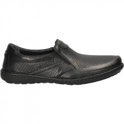 Pantofi barbatesti, piele naturala, slip on