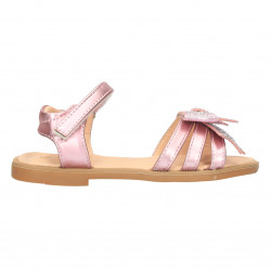 Sandale roz, cu funda glami, pentru fete