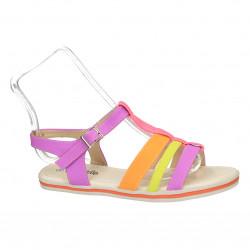 Sandale multicolore, pentru...