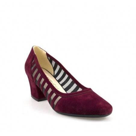 Pantofi eleganti, de vara, cu toc mediu