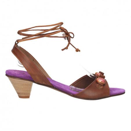 Sandale fashion, decor margele ceramice