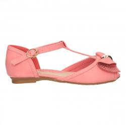 Sandale fete, roz inchis, pietre decor