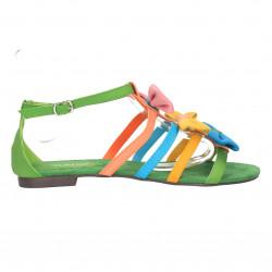 Sandale multicolore, cu...