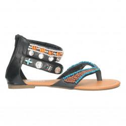 Sandale infradito, dama, cu margele