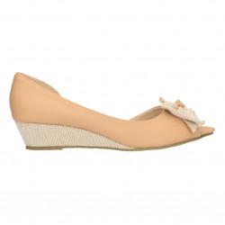Pantofi decupati, cu funda