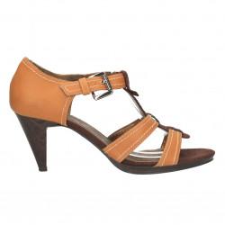 Sandale maro, clasice, cu...