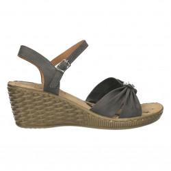 Sandale gri femei, clasic...