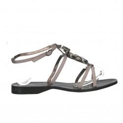 Sandale elegante, fara toc, pietre decor