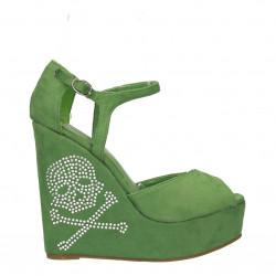 Sandale fashion, platforma inalta