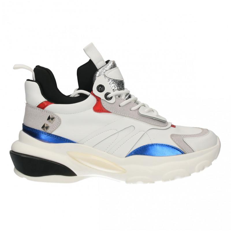 Sneakers femei, stil urban, culoarea alba