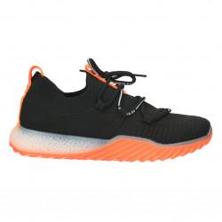 Pantofi sport femei, negru, orange