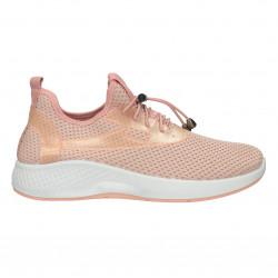 Sneakers soseata, culoare roz pal
