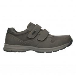 Pantofi barbatesti, cu scai, culoare gri