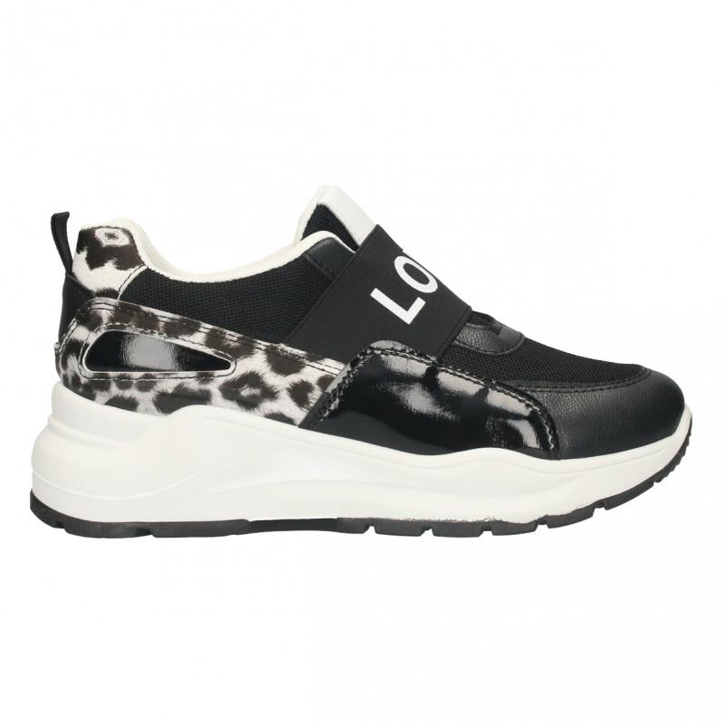 Sneakers dama, animal print, LOVE