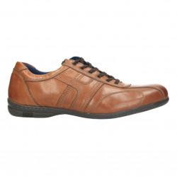 Sneakers barbati, maro, piele naturala