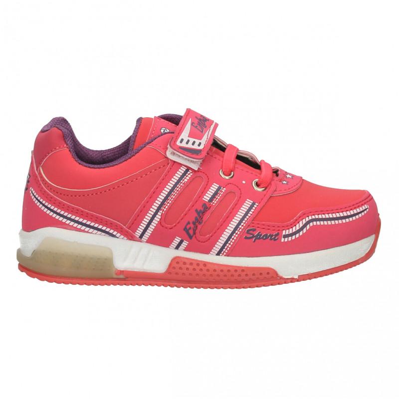 Pantofi sport fete, culoarea roz