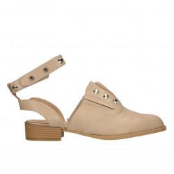 Pantofi  de vara, decupati, pe glezna