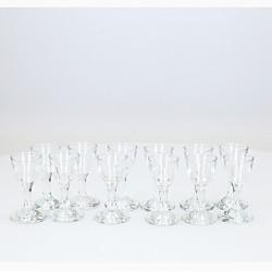Pahare sticla 1.7 ml, set 12