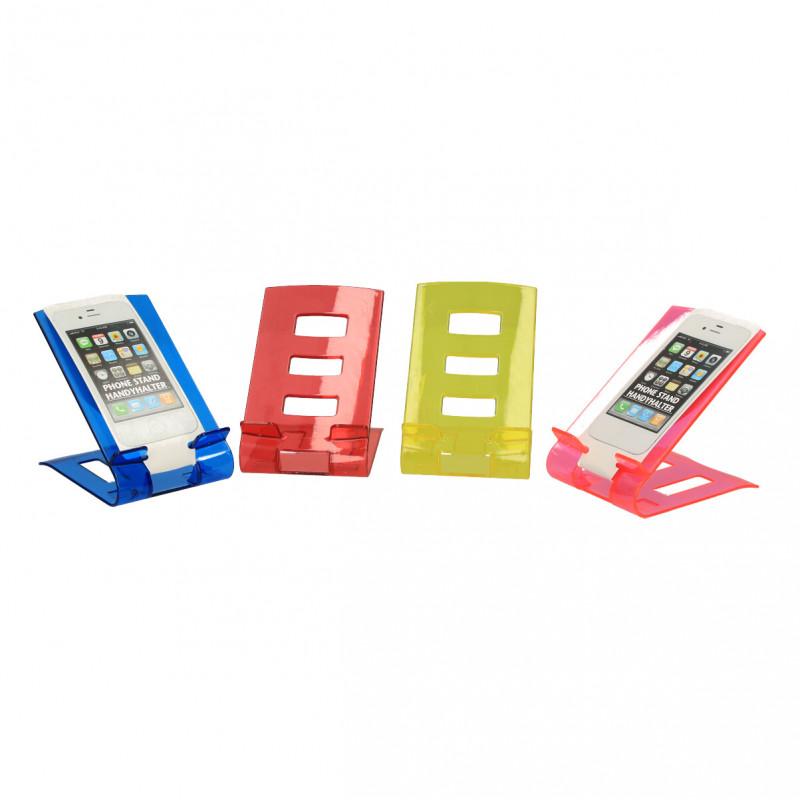 Suport pentru telefon, plastic transparent