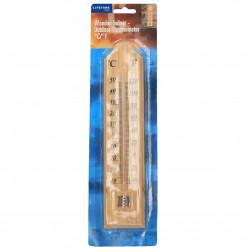Termometru mare, din lemn