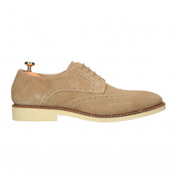 Pantofi barbatesti, Oxford, piele intoarsa