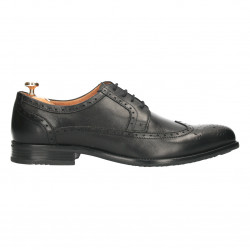 Pantofi Oxford, piele naturala, barbatesti