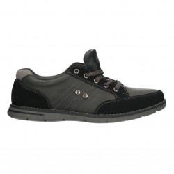 Pantofi barbati, culoare neagra, stil sport
