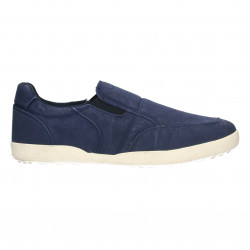 Sneakers bleumarini, barbatesti, din canvas