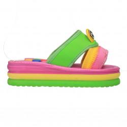 Papuci de strand, fete, talpa groasa