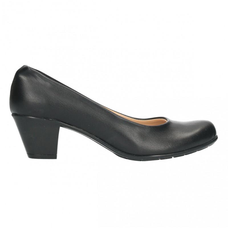 Pantofi office, dama, culoare neagra