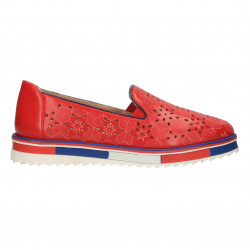 Pantofi dama, rosii, talpa moderna
