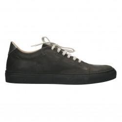 Sneakers dama, stil urban, piele box