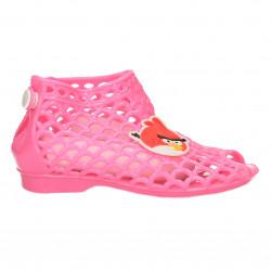 Sandalute fete, culoarea roz inchis