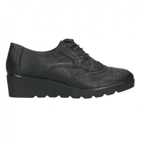 Pantofi negri, dama, talpa ortopedica