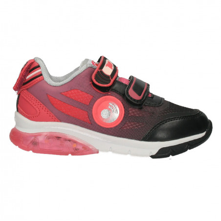 Pantofi sport, negru cu roz