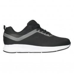 Pantofi sport barbatesti, material textil negru